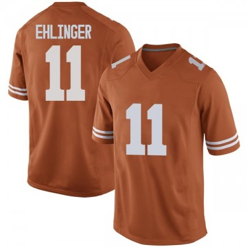 Men's Sam Ehlinger Texas Longhorns Nike Game Orange Mens Football College Jersey