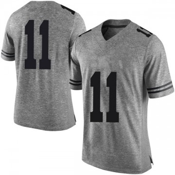Men's Sam Ehlinger Texas Longhorns Nike Limited Gray Mens Football College Jersey