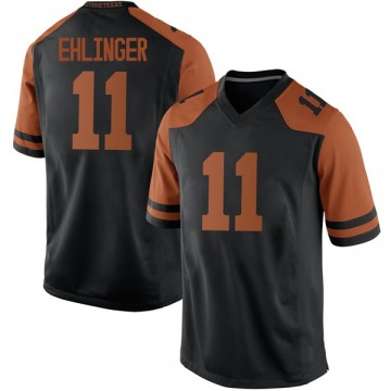Men's Sam Ehlinger Texas Longhorns Nike Replica Black Mens Football College Jersey