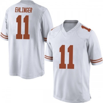 Men's Sam Ehlinger Texas Longhorns Nike Replica White Mens Football College Jersey